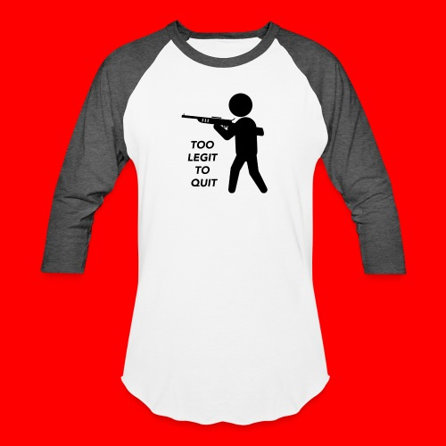 OxyGang: Too Legit To Quit Products - Unisex Baseball T-Shirt