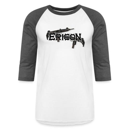 Ericon Beats Uzi Logo - Baseball T-Shirt