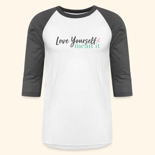 LYMI Logo Full Name - Baseball T-Shirt