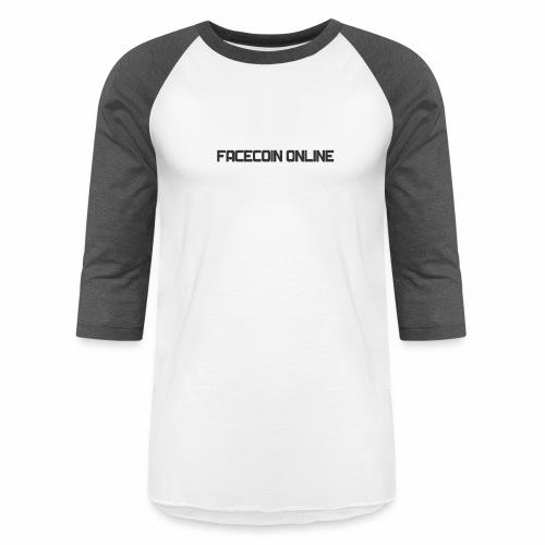 facecoin online dark - Baseball T-Shirt