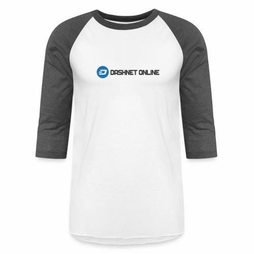 dashnet online dark - Unisex Baseball T-Shirt