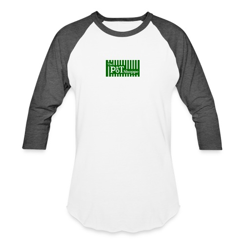 The Pot Shoppe Logo - Baseball T-Shirt