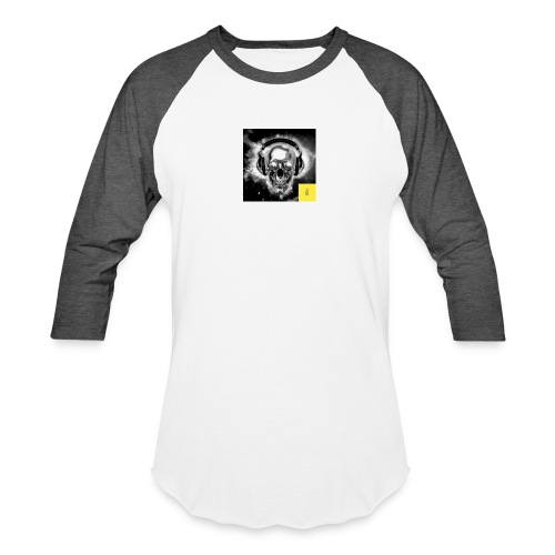 skull - Unisex Baseball T-Shirt