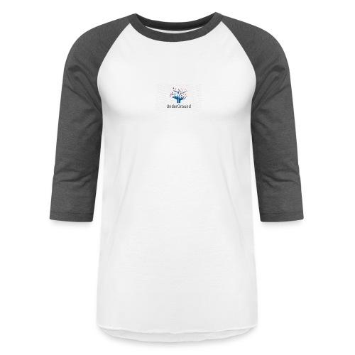 Charity Logo - Unisex Baseball T-Shirt