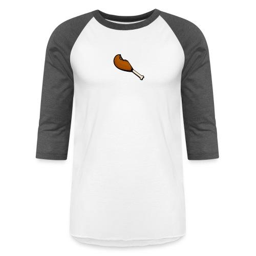 Chicken Leg - Unisex Baseball T-Shirt