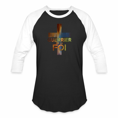 WARRIOR OF FAITH - Baseball T-Shirt
