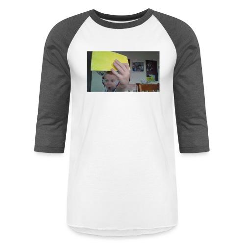 the paper golden shirt - Baseball T-Shirt