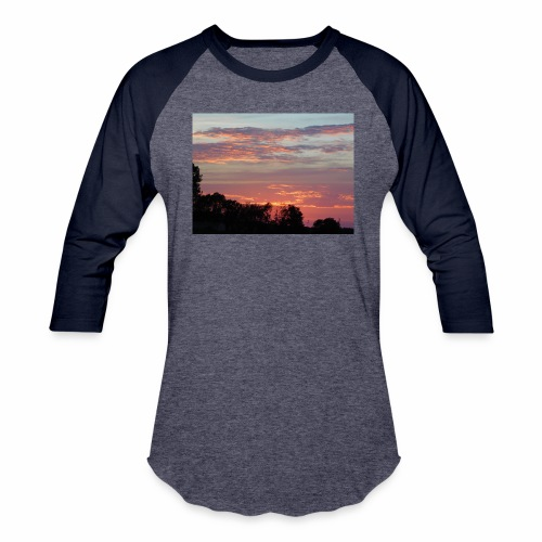 Sunset of Pastels - Baseball T-Shirt