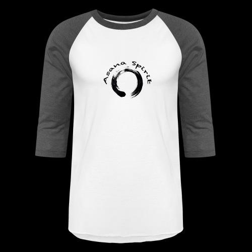 Asana Spirit - Unisex Baseball T-Shirt