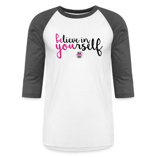 BE YOU shirt design w logo - Baseball T-Shirt