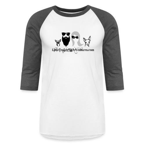 LTBA Heads Logo - Unisex Baseball T-Shirt
