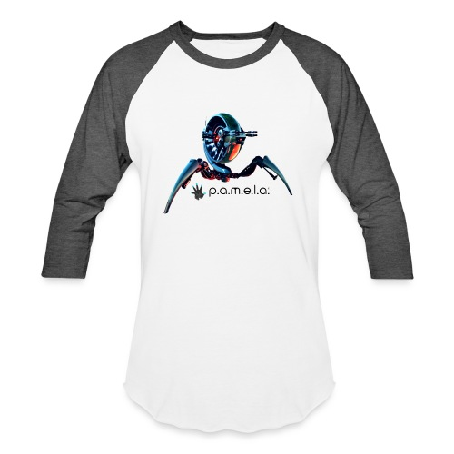 P.A.M.E.L.A. Turret - Unisex Baseball T-Shirt