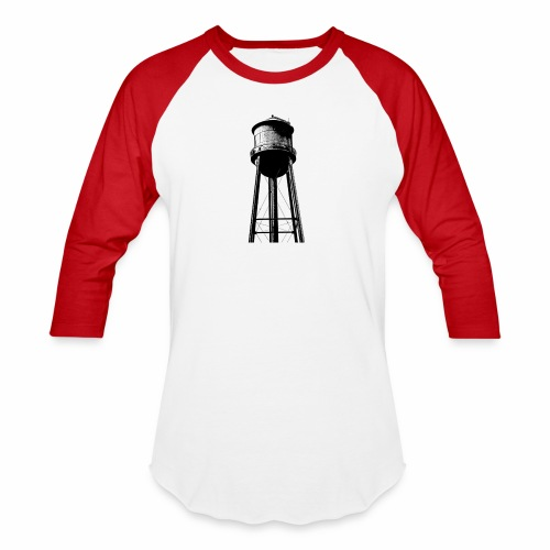 Water Tower - Baseball T-Shirt