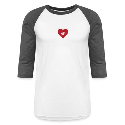Heart Chick - Baseball T-Shirt
