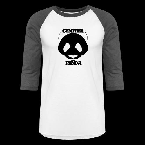 Central Panda in White - Baseball T-Shirt