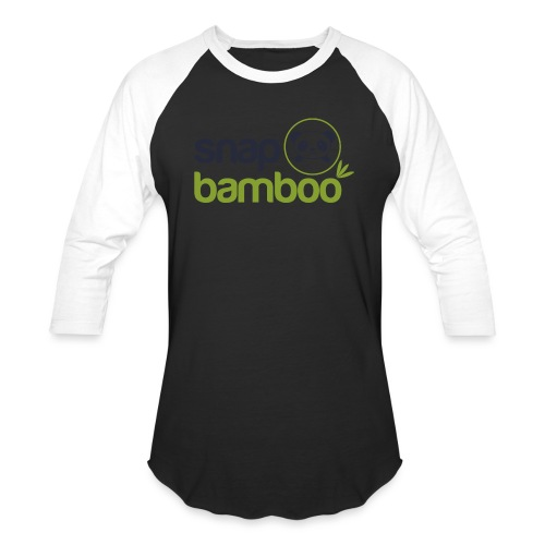 Snap Bamboo Square Logo Branded - Baseball T-Shirt