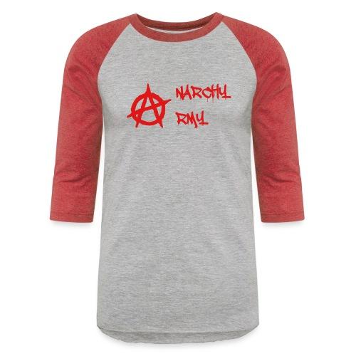 Anarchy Army LOGO - Baseball T-Shirt