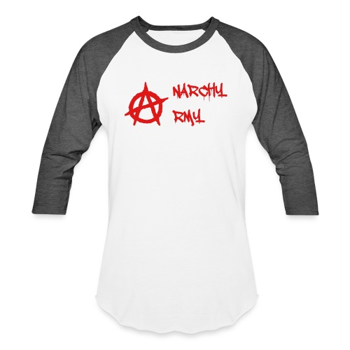 Anarchy Army LOGO - Baseball T-Shirt