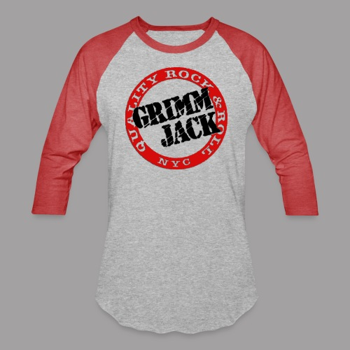 GJ BlackRed - Baseball T-Shirt