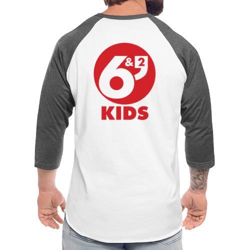 6et2 logo v2 kids 02 - Unisex Baseball T-Shirt