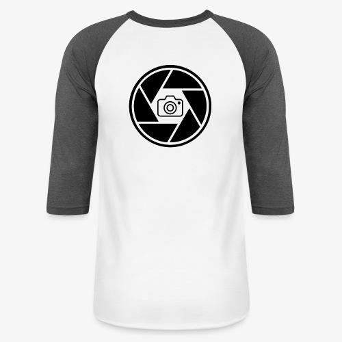 Camera in Aperture - Unisex Baseball T-Shirt
