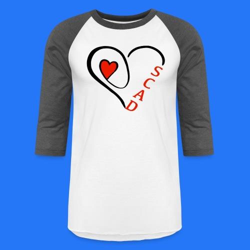 Glugla heart - Baseball T-Shirt