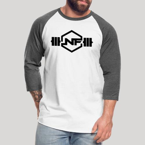 Natural Fitness Gym Logo - Unisex Baseball T-Shirt