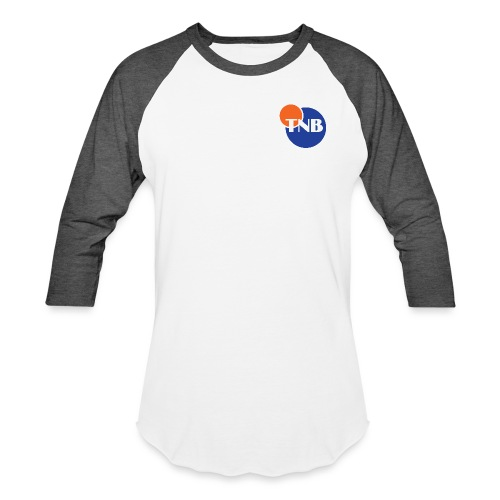 TNB Logo - Unisex Baseball T-Shirt