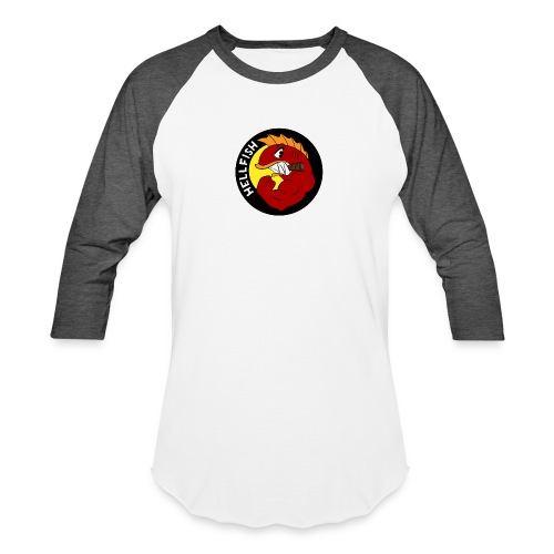 Hellfish - Flying Hellfish - Unisex Baseball T-Shirt