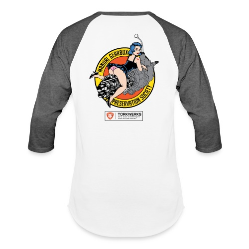 Manual Gearbox Preservation Society - Unisex Baseball T-Shirt