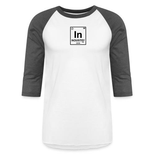 PeriodicLogoScreen - Unisex Baseball T-Shirt