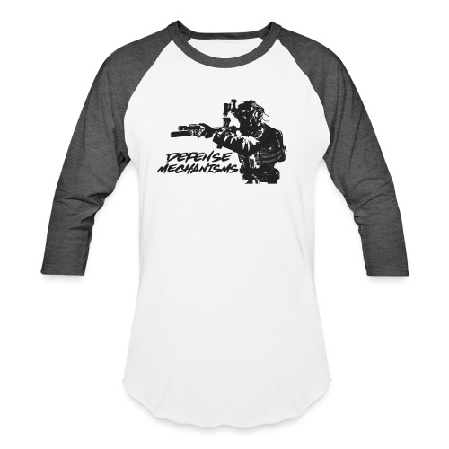 Defense Mechanisms: On Target - Unisex Baseball T-Shirt