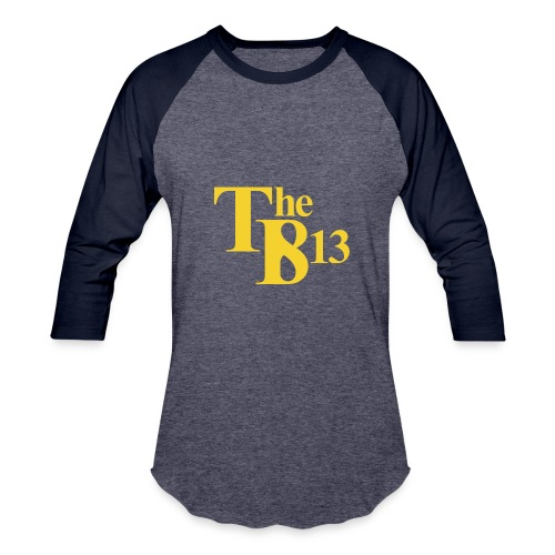 TBisthe813 YELLOW - Baseball T-Shirt