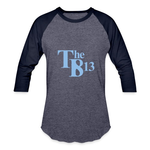TBisthe813 Columbia Blue - Baseball T-Shirt