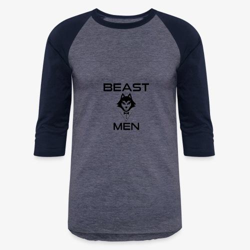BEAST MEN WOLF PNG - Baseball T-Shirt