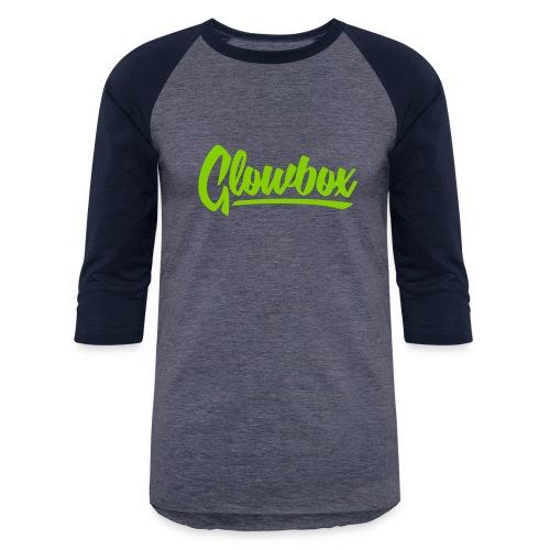 Glowbox Cursive - Baseball T-Shirt