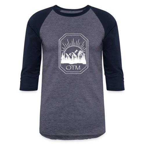 OTM BLOCK O WHITE - Baseball T-Shirt