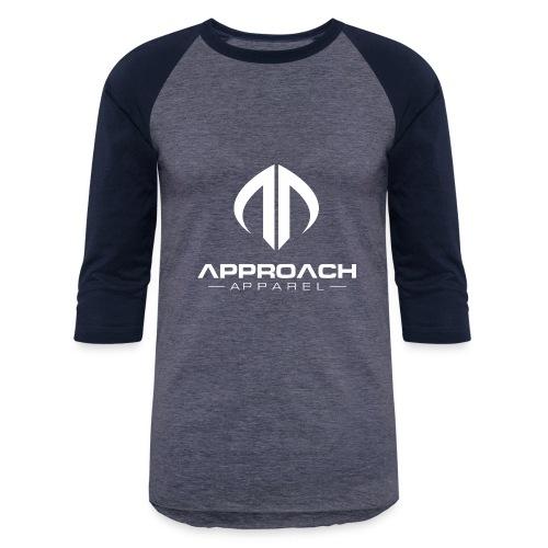 Approach Apparel Athletic Hoodie Shirt- White Logo - Baseball T-Shirt