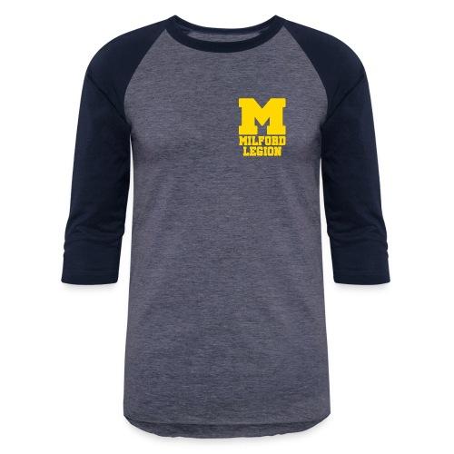 Milford-Legion Logo - Baseball T-Shirt