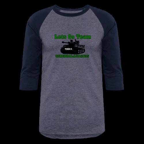 LETS GO TEAM - Baseball T-Shirt