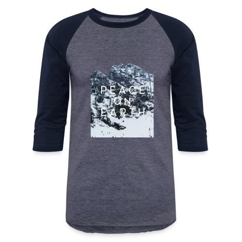 PEACE ON EARTH - Baseball T-Shirt