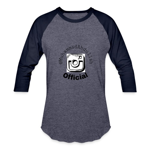 Instagram Logo Design - Baseball T-Shirt
