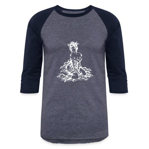 geisha white - Baseball T-Shirt