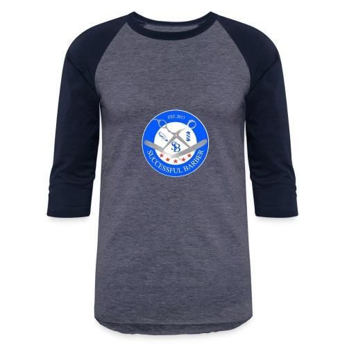 Successful Barber Seal - Baseball T-Shirt