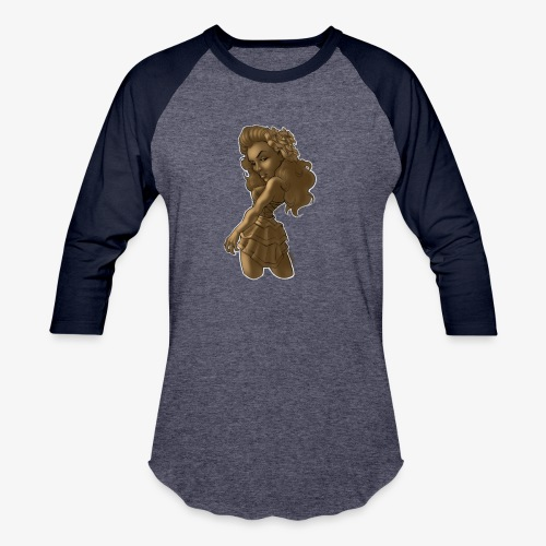 Brown Beauty - Baseball T-Shirt
