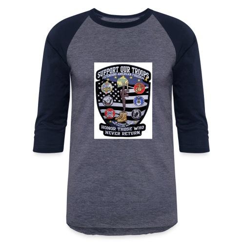 Troop Support - Baseball T-Shirt