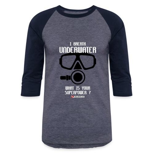 DIVER SCUBA fun - Baseball T-Shirt
