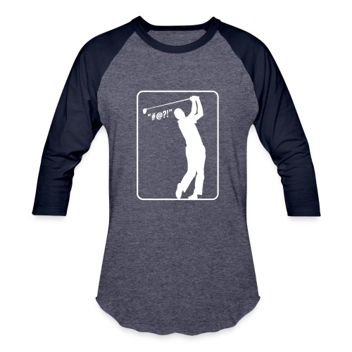 Golf Shot #@?! - Baseball T-Shirt