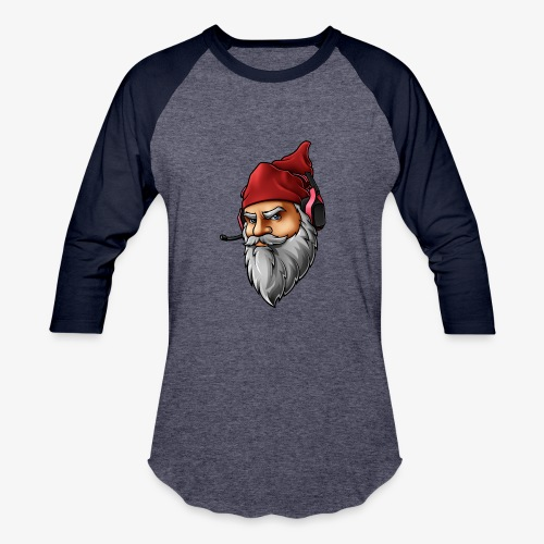 Gnome logo *face only* - Baseball T-Shirt