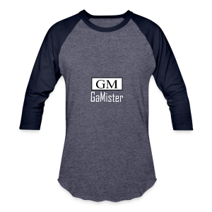 gamister_shirt_design_1_back - Baseball T-Shirt